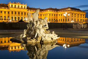 Travel to Austria Schoenbrunn palace